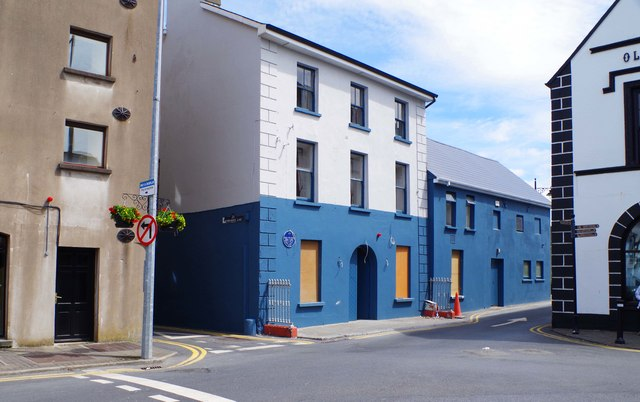 Partially boarded up building, Parnell Street, Dungarvan, Co. Waterford