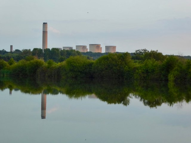 View of Ratcliffe Power Station