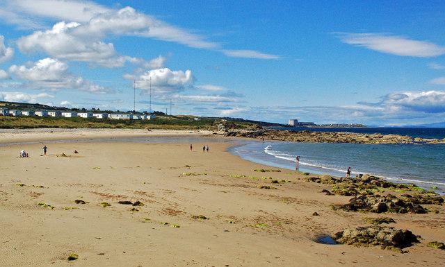 Hopeman Beach