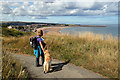 NU0150 : The Northumberland Coast Path near Spittal by Walter Baxter
