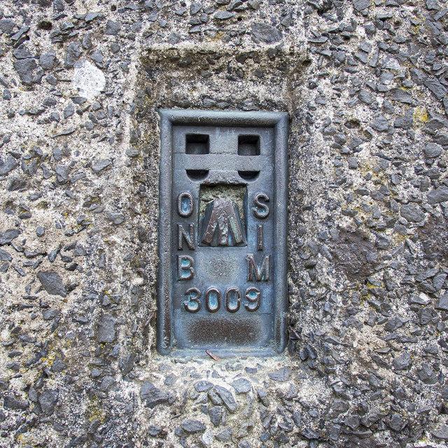 Flush Bracket, Slievenaslat Triangulation Pillar