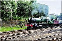 SD8010 : Ex-GWR Locomotive at Castlecroft by David Dixon