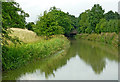 SP5970 : Grand Union Canal south of Crick in Northamptonshire by Roger  Kidd