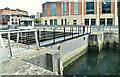 J3475 : The Clarendon Dock entrance, Belfast (August 2018) by Albert Bridge
