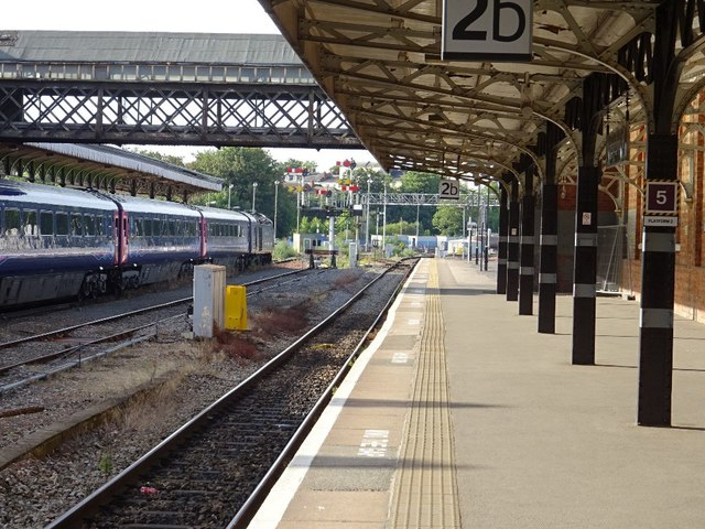 Shrub Hill Station