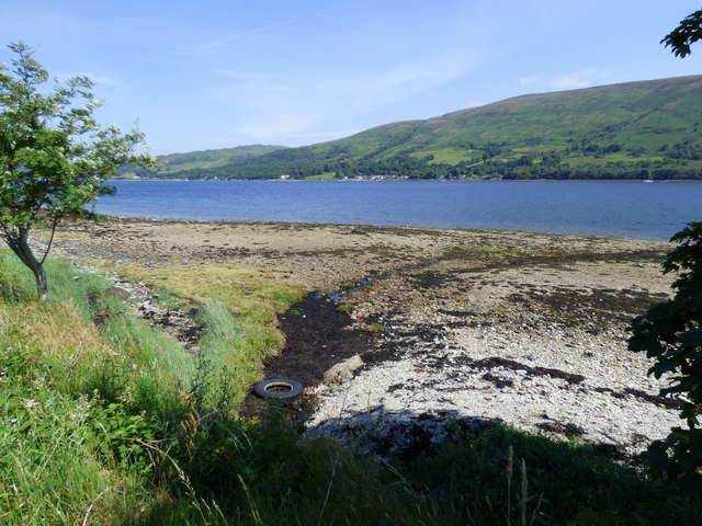 Unnamed burn entering the Kyles Of Bute