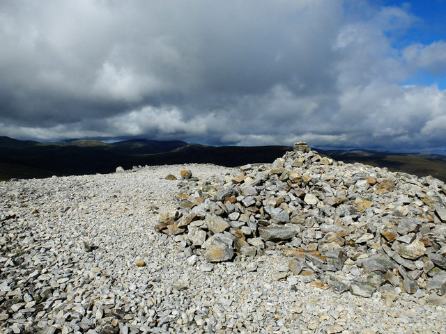 Summit of Carn Aosta
