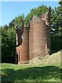 SK3616 : Ashby Castle – banqueting tower by Alan Murray-Rust