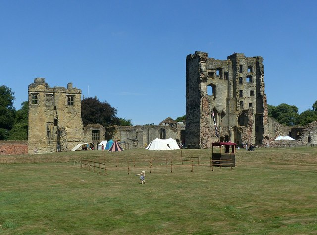 Ashby Castle – general view from the south