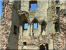 SK3616 : Ashby Castle – Hastings tower interior by Alan Murray-Rust