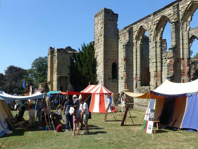 Ashby Castle – the eastern courtyard