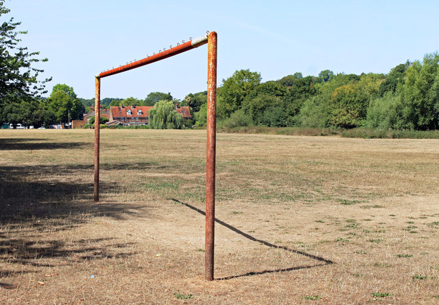 Rusty Goal on Chesham Moor