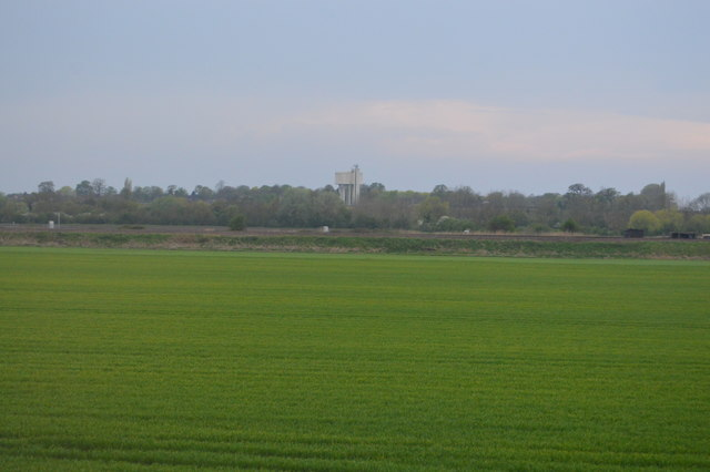 Water Tower in distance