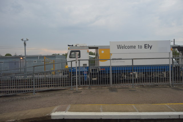 Southern end, Ely Station