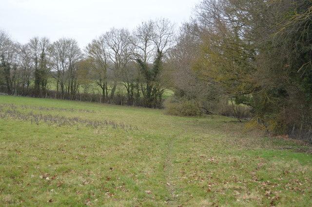 Footpath near Stone Court Farm