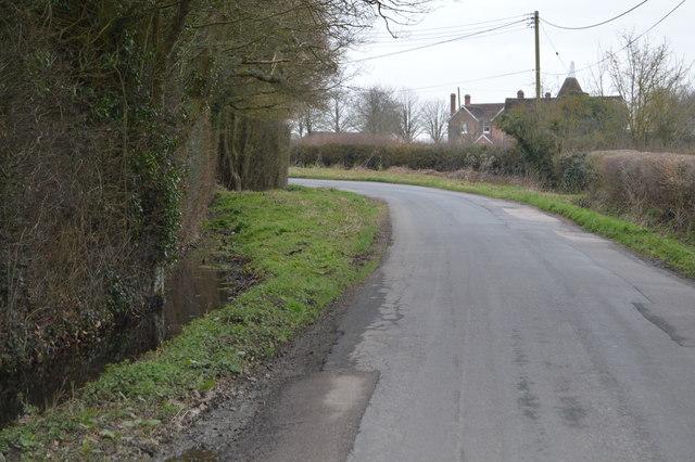 A Kentish lane