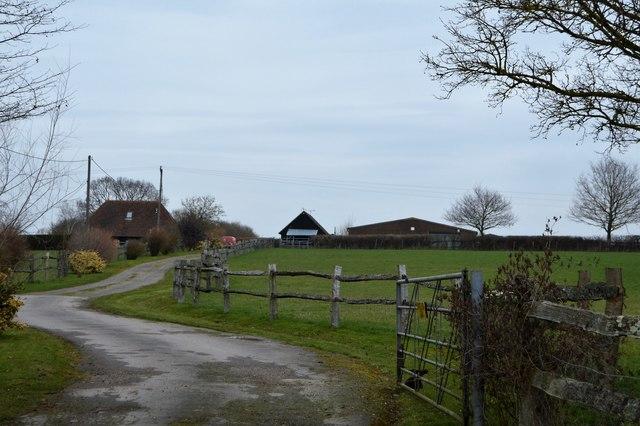 Farm track, Payne Land Farm