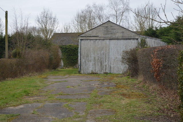 Derelict looking shed