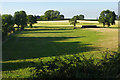 SJ4434 : Farmland south of Balmer Heath by Stephen McKay