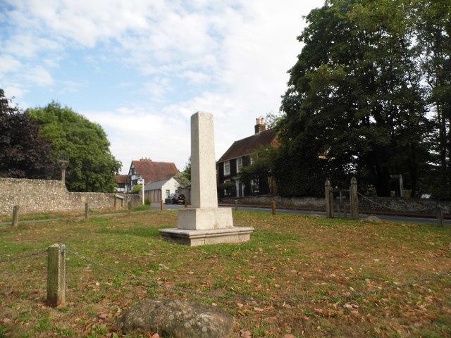 War memorial in Ditchling