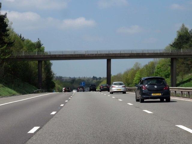 The M40 runs under Lapworth Street