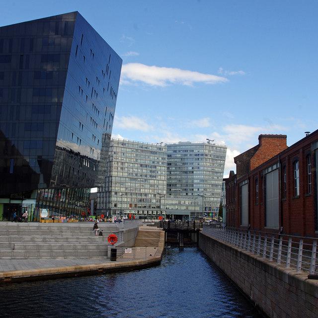 Mann Island Basin, Liverpool Canal Link