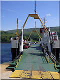 NS0274 : Ferry at Rhubocach by Thomas Nugent