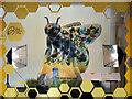 SJ8398 : Wild Manchester, The Bee in Kendals Window by David Dixon