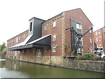 SD8538 : Mill conversion beside the Leeds & Liverpool Canal by JThomas