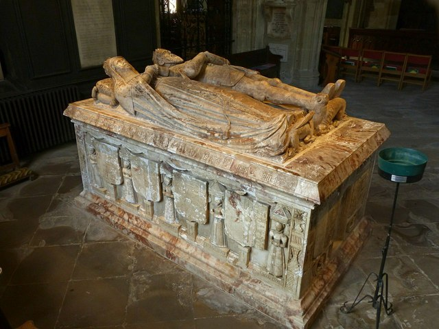 Church of St Helen, Ashby-de-la-Zouch – Hastings tomb – 2