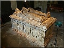 SK3616 : Church of St Helen, Ashby-de-la-Zouch – Hastings tomb – 2 by Alan Murray-Rust