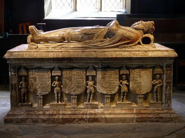 Church of St Helen, Ashby-de-la-Zouch – Hastings tomb – 5