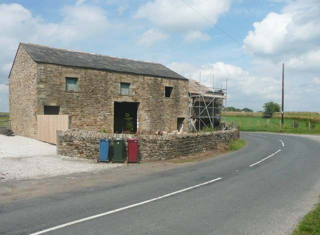 Barn conversion in progress, Brock Thorn, Easington