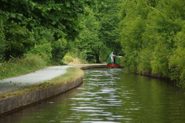 Llangollen Canal near Sun Trevor Bridge