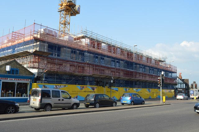 Construction, Newmarket Rd