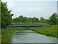 SP5973 : Crack's Hill Footbridge north of Crick, Northamptonshire by Roger  Kidd
