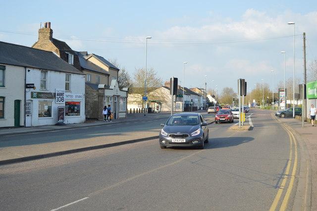 Newmarket Rd, A1134