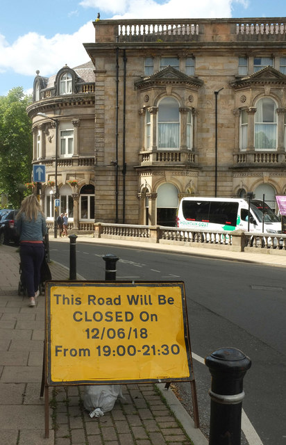 Sign on Royal Parade, Harrogate