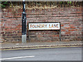 TL8528 : Foundry Lane sign by Adrian Cable