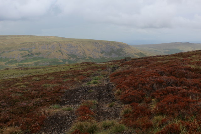 Faint Track on Lamb Hill Fell