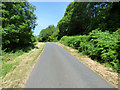 NS0275 : The B866 road at Caol Ruadh by Thomas Nugent