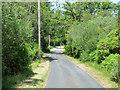 NS0175 : The B866 road near Caol Ruadh by Thomas Nugent