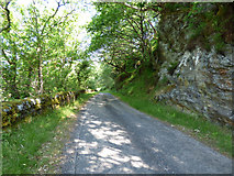 NS0176 : The B866 road by Thomas Nugent