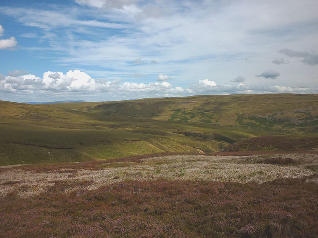 Grouse moor above far Costy Clough