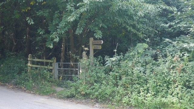 Signpost, Offa's Dyke path