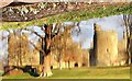 TQ7825 : Bodiam Castle reflected in its moat by Patrick Roper