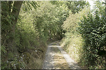 SK1962 : A narrow country lane by Malcolm Neal