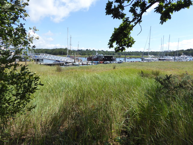 Scene on the Beaulieu River, Hampshire