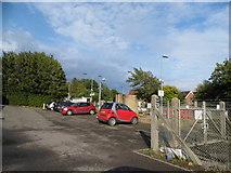 TQ2134 : Faygate Station car park by David Howard