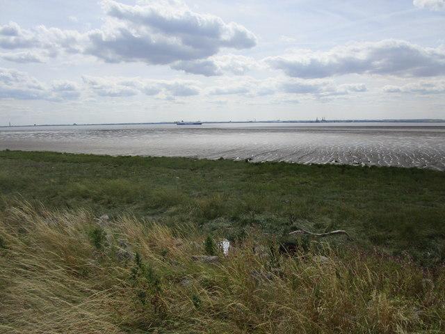 The Humber Estuary off Sunk Island